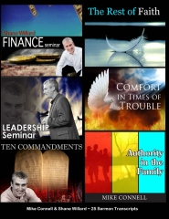 Finance, Leadership, 10Commandments, Rest of Faith, Comfort, Authority In Family