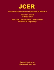 Journal of Consciousness Exploration & Research Volume 4 Issue 8