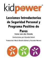 Lecciones Introductorias de Seguridad Personal y Programa Positivo de Pares