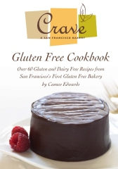 Crave Bakery Gluten Free Cookbook