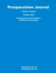 Prespacetime Journal Volume 4 Issue 9