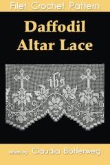 Daffodil Altar Lace Filet Crochet Pattern