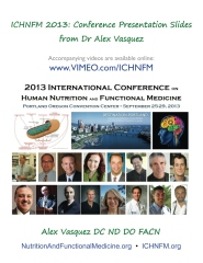 ICHNFM 2013: Conference Presentation Slides from Dr Alex Vasquez
