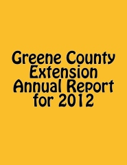 Greene County Extension Annual Report for 2012