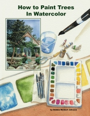 How To Paint Trees In Watercolor