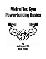 Metroflex Powerbuilding Basics