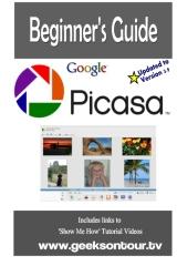 Picasa 3.9 Beginner's Guide