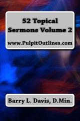 52 Topical Sermons Volume 2