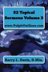 52 Topical Sermons Volume 3