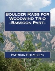 Boulder Rags for Woodwind Trio -Bassoon Part-
