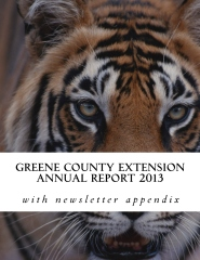 Greene County Extension Annual Report 2013