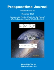 Prespacetime Journal Volume 4 Issue 11
