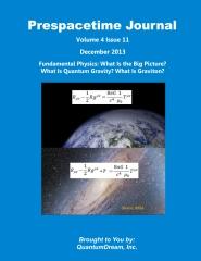 Prespacetime Journal Volume 4 Issue 11