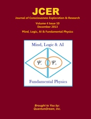 Journal of Consciousness Exploration & Research Volume 4 Issue 10