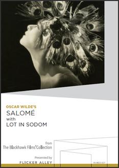 Oscar Wilde's Salomé with Lot in Sodom