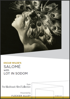 Oscar Wilde's Salomé with Lot in Sodom