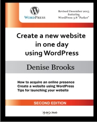 Create a new website in one day using WordPress [Second Edition]