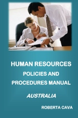 Human Resources Policies and Procedures Manual - Australia
