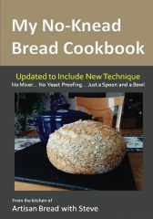 My No-Knead Bread Cookbook