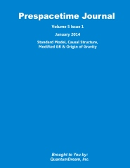 Prespacetime Journal Volume 5 Issue 1