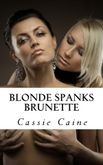 Blonde Spanks Brunette