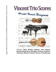 Vincent Trio Scores (2015)