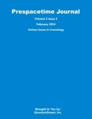 Prespacetime Journal Volume 5 Issue 2