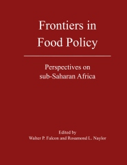 Frontiers in Food Policy