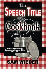 The Speech Title Cookbook