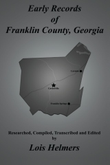 Early Records of Franklin County, Georgia