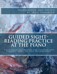 Guided Sight-Reading Practice at the Piano