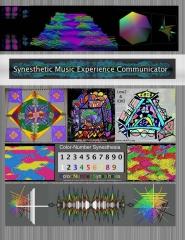 Synesthetic Music Experience Communicator