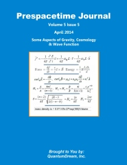 Prespacetime Journal Volume 5 Issue 5