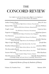 The Concord Review: V24, No. 4, Summer