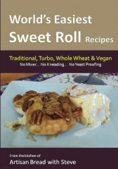 World's Easiest Sweet Roll Recipes (No Mixer... No-Kneading... No Yeast Proofing)