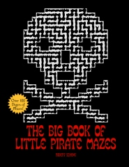 The Big Book of Little Pirate Mazes