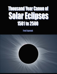 Thousand Year Canon of Solar Eclipses 1501 to 2500