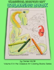 Classical Modern Art Coloring Book