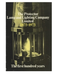The Protector Lamp and Lighting Company Limited The first 100 years