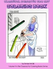 Classical Romantic Era Art Coloring Book