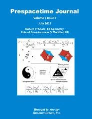 Prespacetime Journal Volume 5 Issue 7