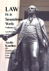 Law is a Seamless Web - Volume 1
