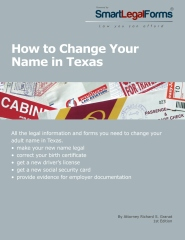 How To Change Your Name in Texas