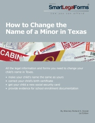 How to Change the Name of a Minor in Texas