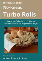 Introduction to No-Knead Turbo Rolls (Ready to Bake in 2-1/2 Hours… and Mother Nature will shape the rolls for you!)