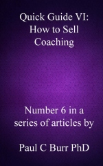 Quick Guide VI - How to Sell Coaching