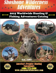Shoshone Wilderness Adventures 2015 Catalog