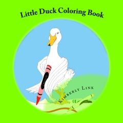 Little Duck Coloring Book
