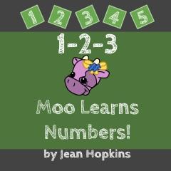 1-2-3 Moo Learns Numbers!