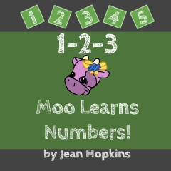 1-2-3 Moo Learns Numbers!